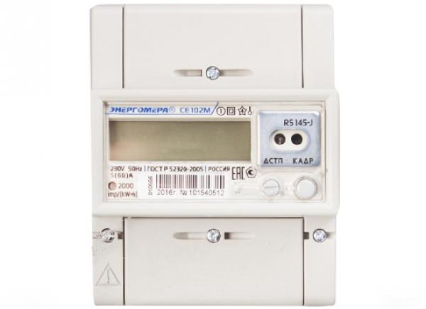 Счетчик электроэнергии Энергомера CE 102 М R5 145 J1