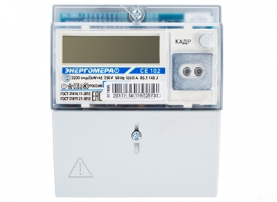 Счетчик электроэнергии Энергомера CE 102 M R5.1 145 J1